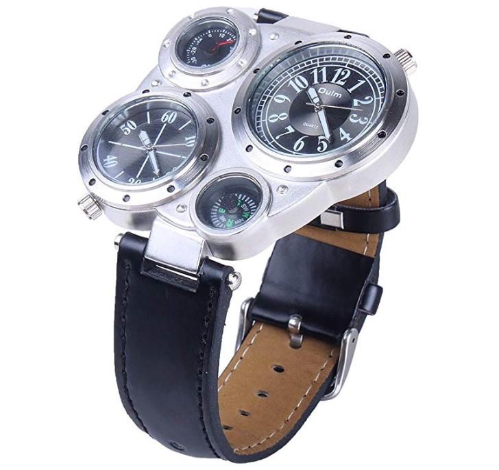 7bd161e40aac Reloj Pulsera Quartz Análogo de Cuero PU Unisex (Colores Surtidos)  LINK