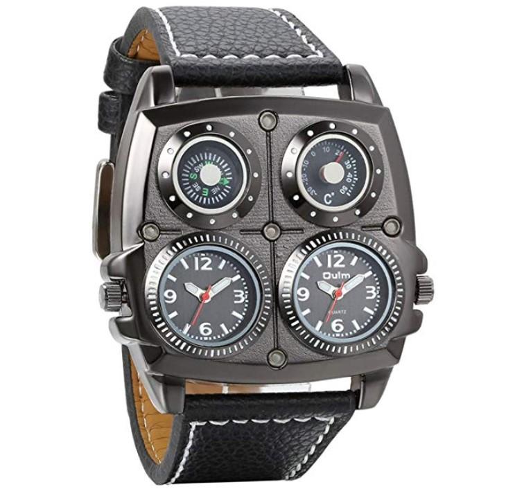 39e2552e1dd5 Avaner Reloj de Pulsera Grande Punky Militar Deportivo para Hombres
