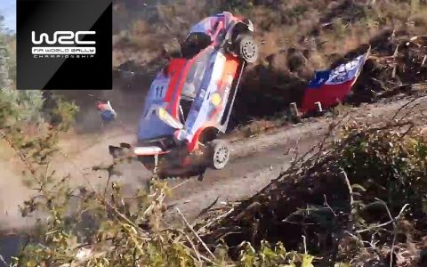 Espectacular accidente de Thierry Neuville