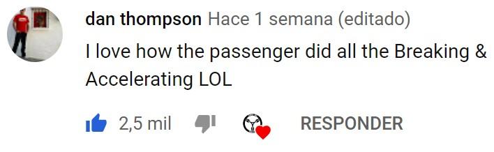 Estás viendo un vídeo normalucho y un comentario te hace el día