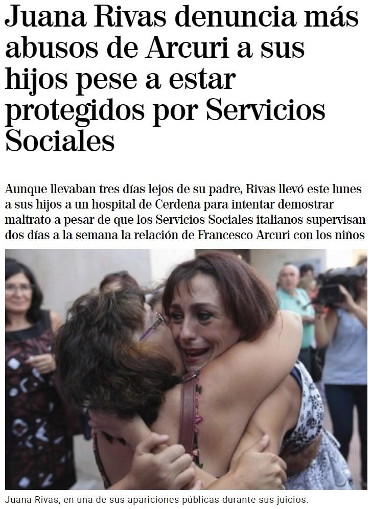 """""""Juana Rivas pone una denuncia falsa"""" da igual cuándo leas esto"""