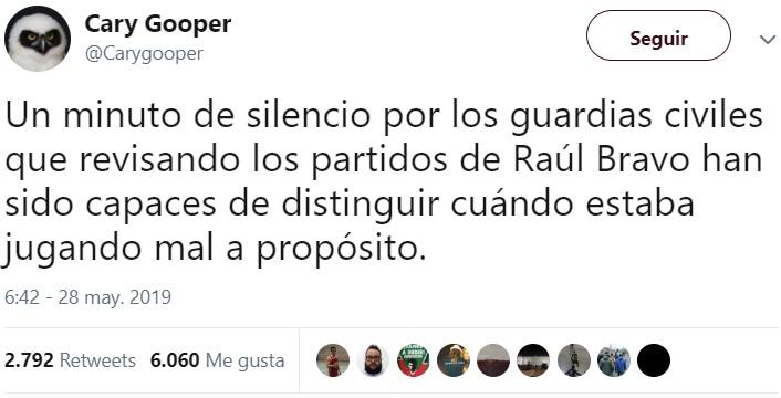 Detenido Raúl Bravo, presunto cabecilla de la trama de las apuestas