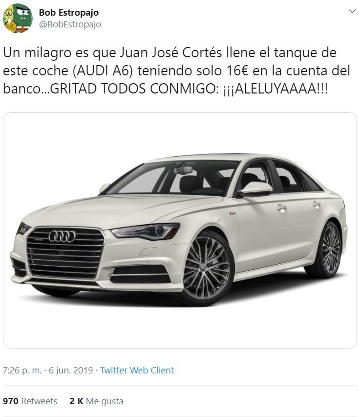 Juan José Cortés comparece para dar el pésame a... su credibilidad