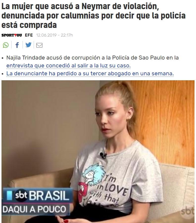 La Juana Rivas de Brazil: Primero le abandonan tres abogados, y ahora le denuncian por calumnias