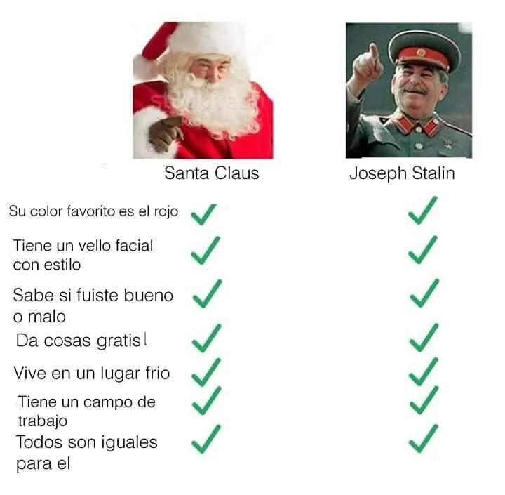 Chicos ¿Qué le vais a pedir a Tito Stalin para estas Navidades?