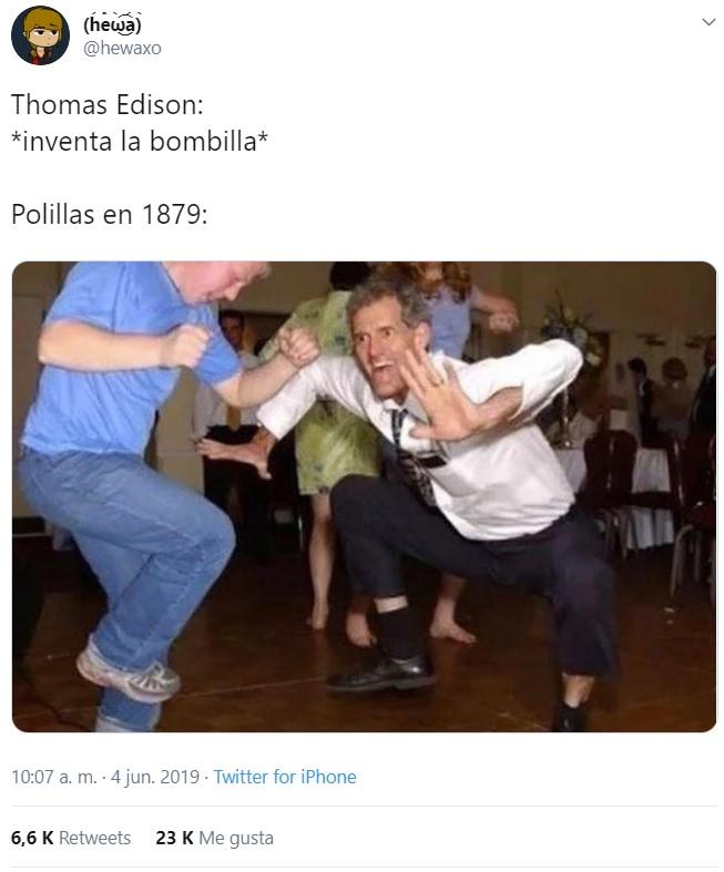 Edison es un dios, pero no para nosotros