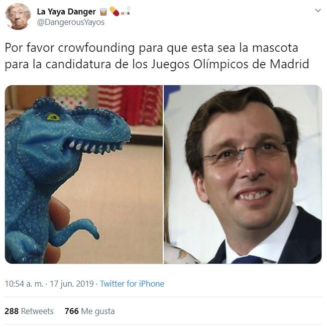 Famosos con la boca del nuevo alcalde de Madrid