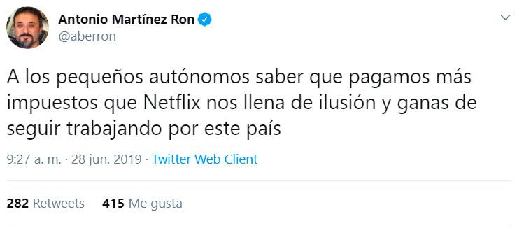 ¡Gracias Netflix!