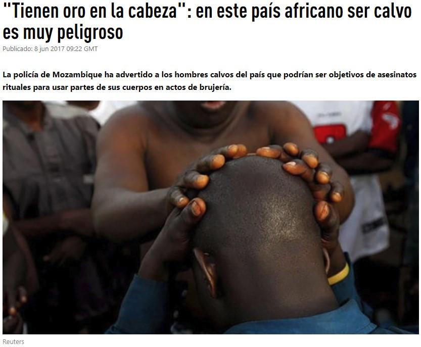 Igoroink... no viajes a Mozambique