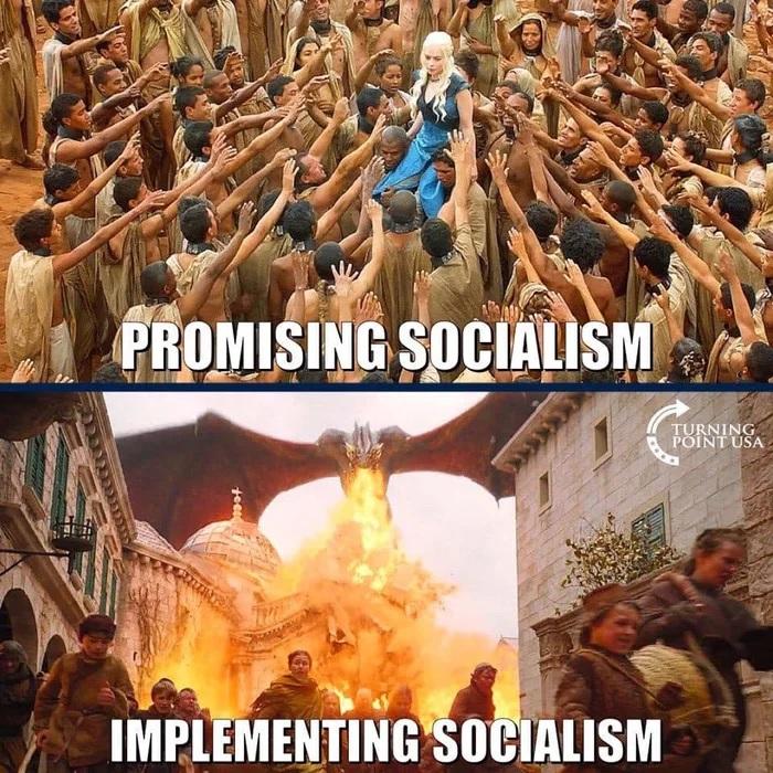 El socialismo siempre tiene mejor pinta en tu imaginación