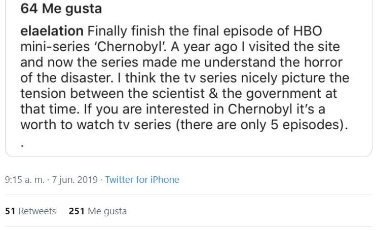 2019: Chernobyl se llena de millennials