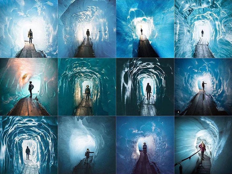 Alguien hizo estos collages para demostrar la cantidad de cuentas de Instagram iguales que hay