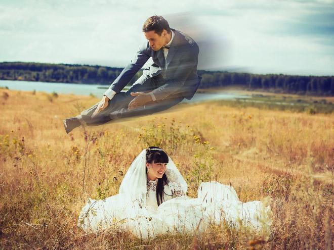 Fotos de bodas rusas totalmente normales