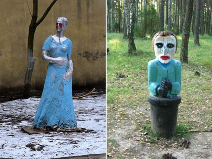 Parques rusos: la galería que estabas esperando (21 fotos)