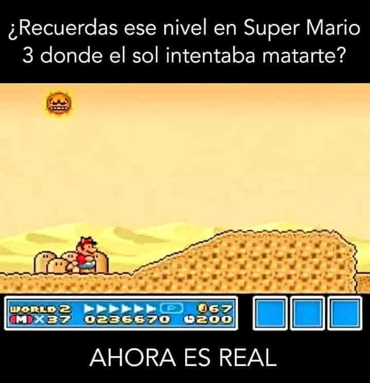 ¿Recuerdas ese nivel de Super Mario Bros 3?