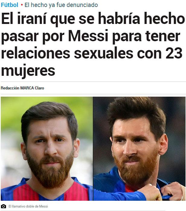 El clon de Messi se está hinchando a meter goles