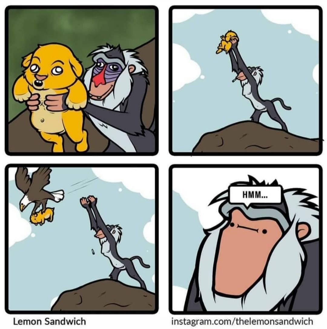 Escena eliminada del Rey León