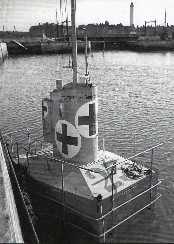 Rettungsboje, la ingeniosa boya de rescate ideada por los alemanes en la Segunda Guerra Mundial para salvar a los pilotos derribados