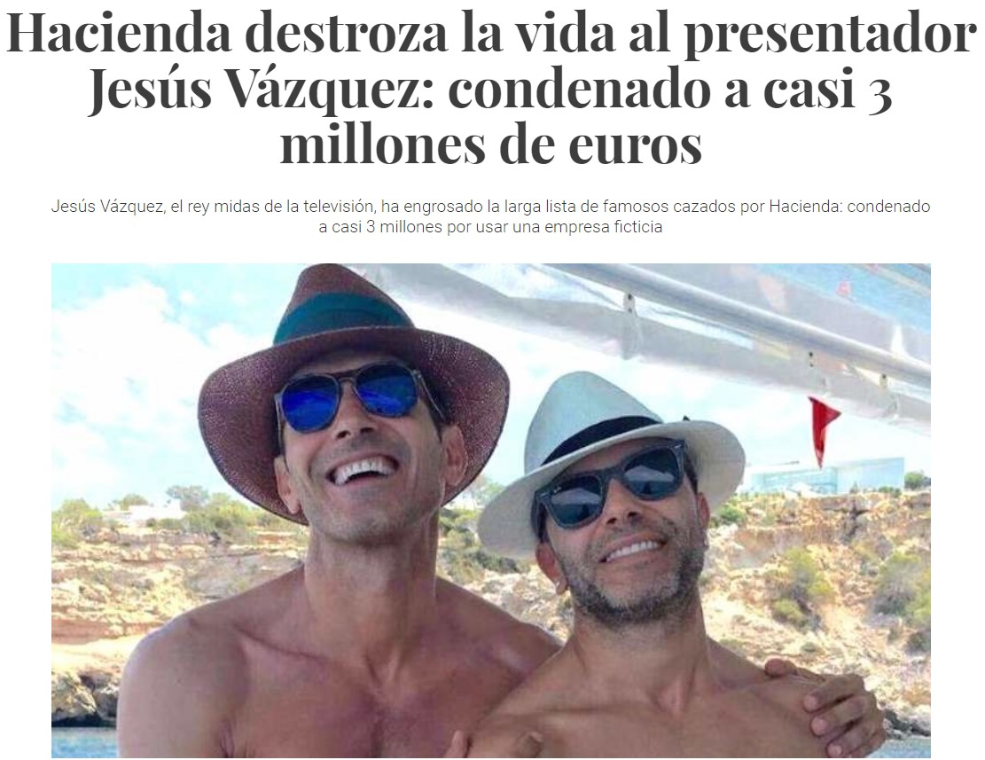 Estúpida Hacienda que multa a gente que crea sociedades ficticias...