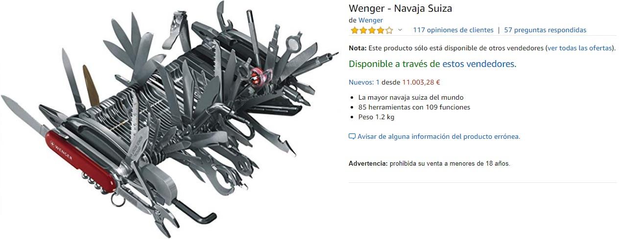 La navaja definitiva: por solo 11.000 euros es tuya