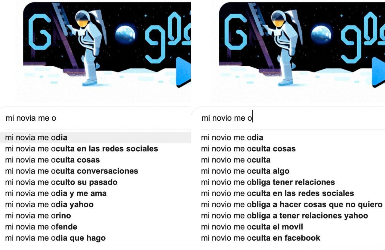 Esto es lo que busca la gente sobre sus novios/novias en Google