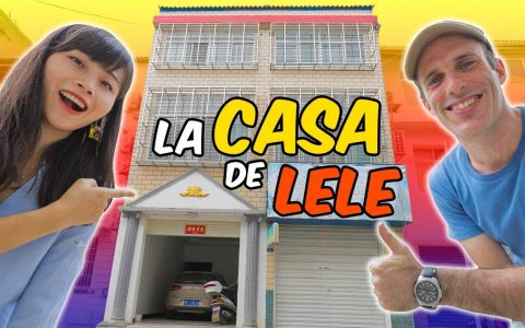 Lele nos enseña su casa en China