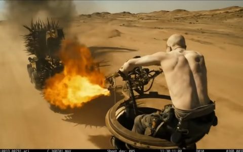 Mad Max: Fury Road, pero sin CGI