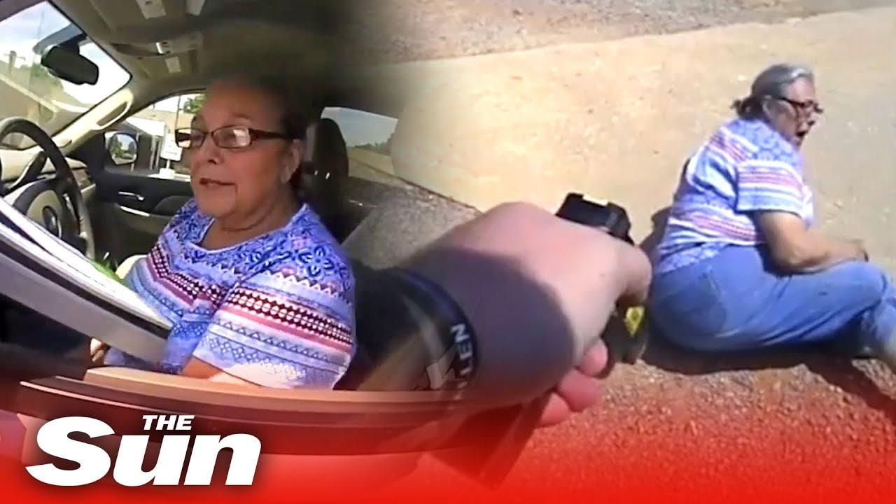 ¿No hacer caso a la policía y darte a la fuga porque crees que al ser una señora mayor no te hará nada? ¡ERROOOOOOOOOOOOOR!