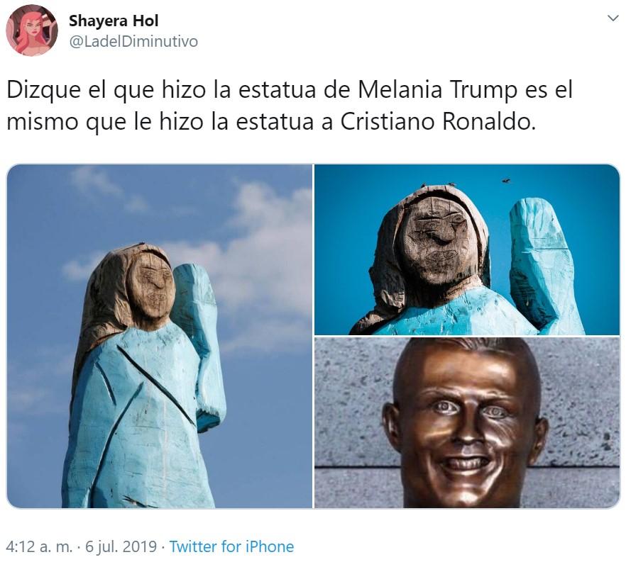 Por fin alguien ha sabido captar la esencia de Melania Trump