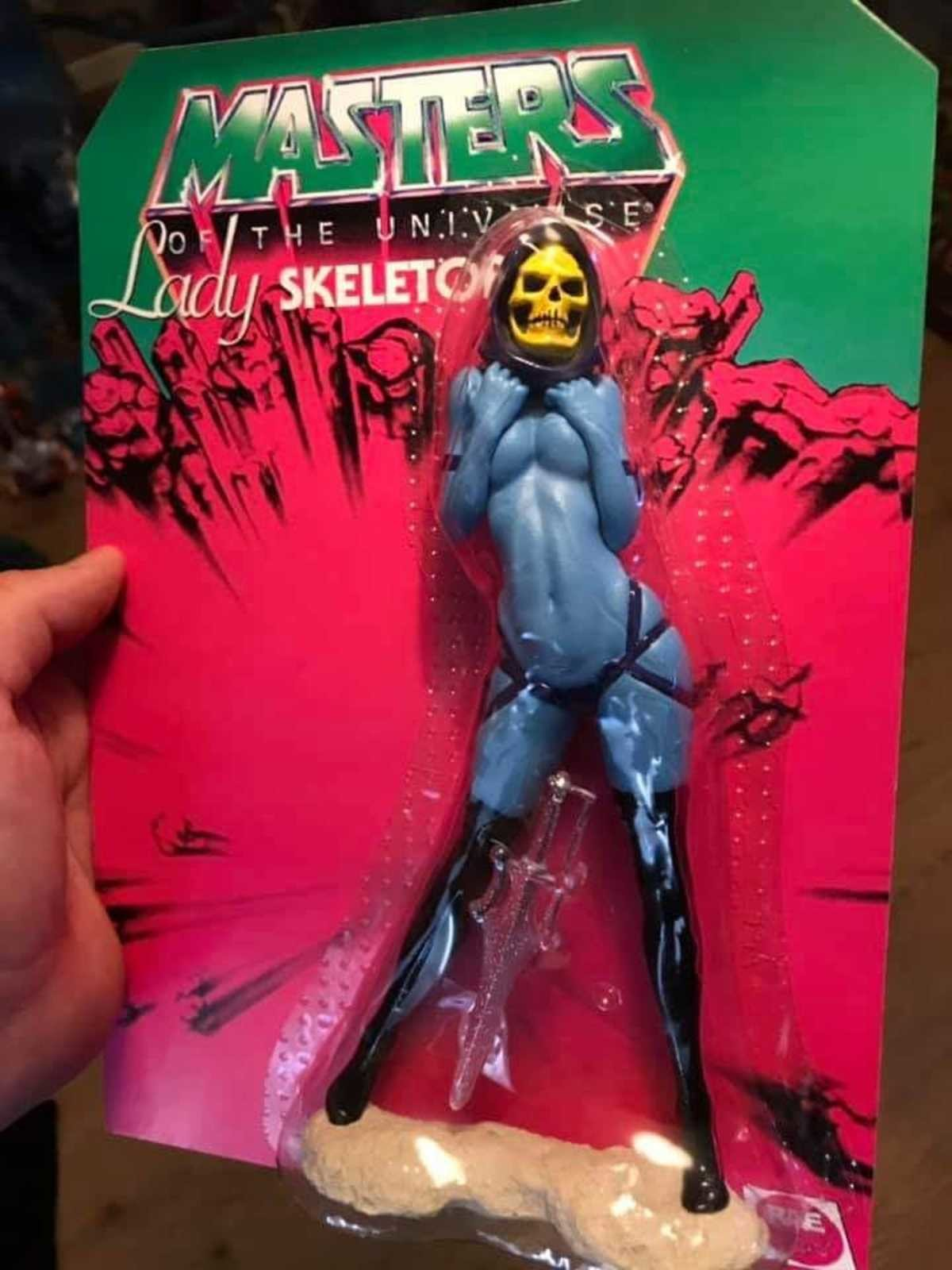 Skeletor también ha sido feminizado
