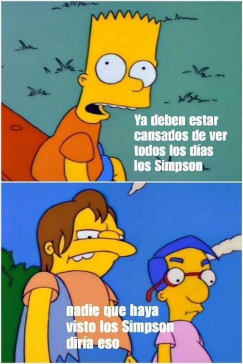 Detector de mentirosos sobre los Simpson