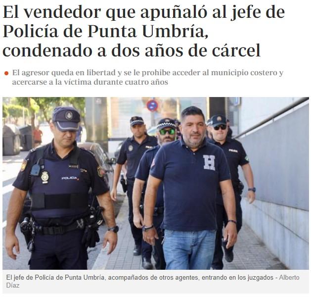 Bueno pues al final el amable señor que intentó afeitar al policía no va a entrar en la cárcel