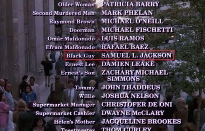 """¿Sabías que Samuel L Jackson apareció en la película de 1989 """"Melodía de seducción"""" y su papel fue... """"Black Guy""""?"""