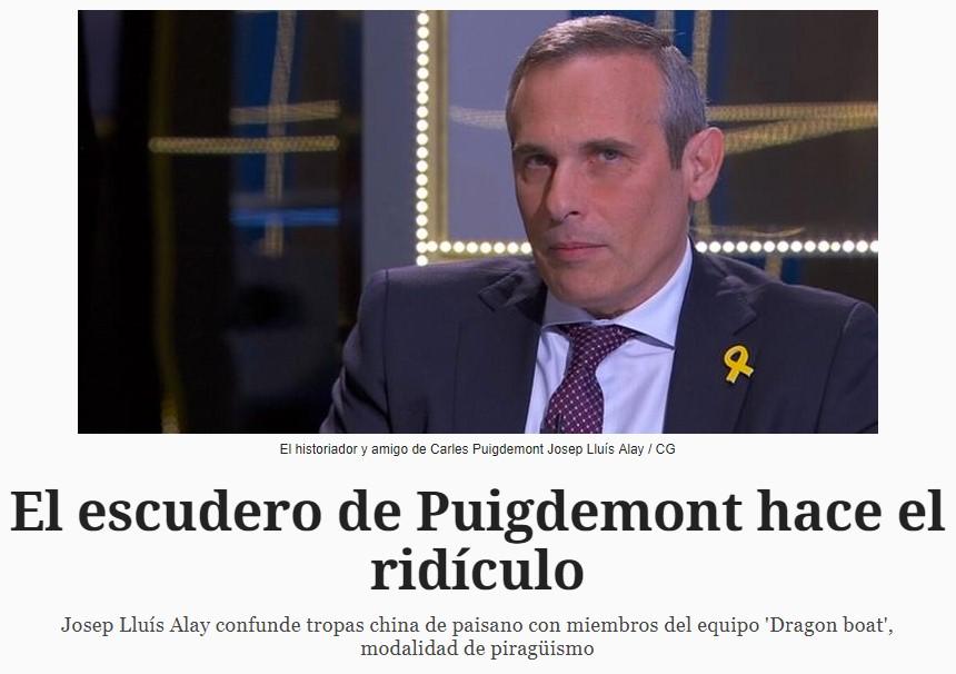 """Y hoy, en """"Cataluña es el centro del universo"""": els xinesos ens ataquen"""