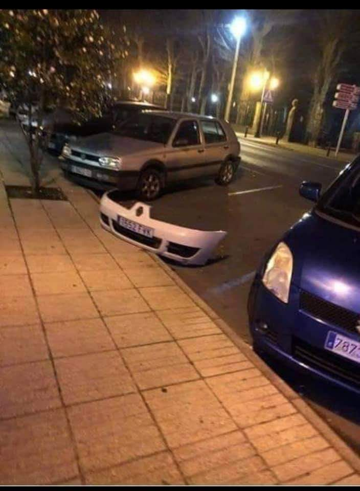 Cuando tienes un coche invisible y se te desconfiguran los drivers del parachoques