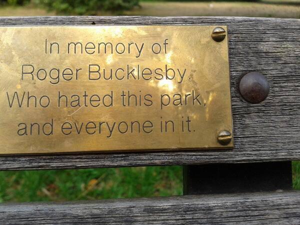 Todos somos Roger Bucklesby
