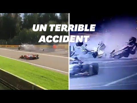 Muere Anthoine Hubert tras un brutal accidente con Juan Manuel Correa durante una carrera de la F2