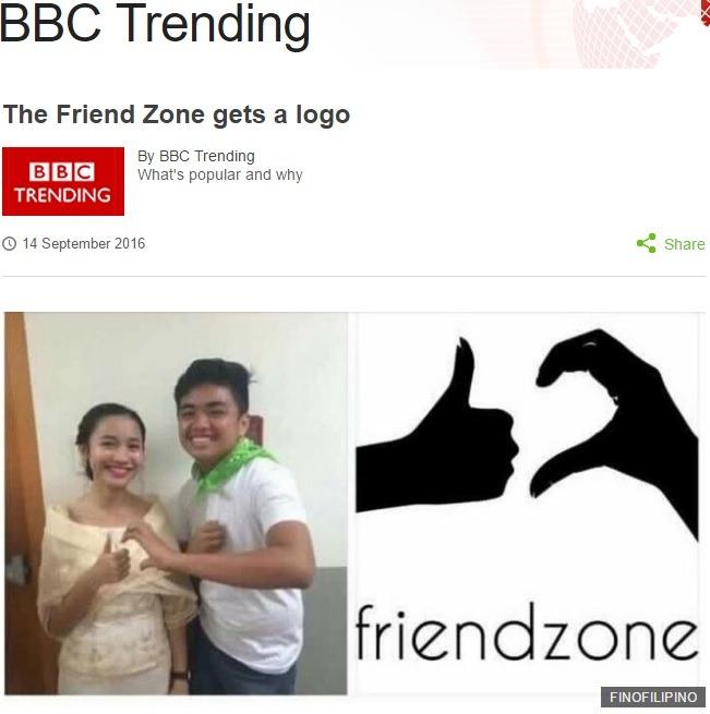 El logo de la Friendzone en el metro de Londres
