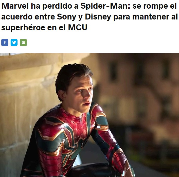 Si todo sale bien el nuevo Spiderman será Broncano