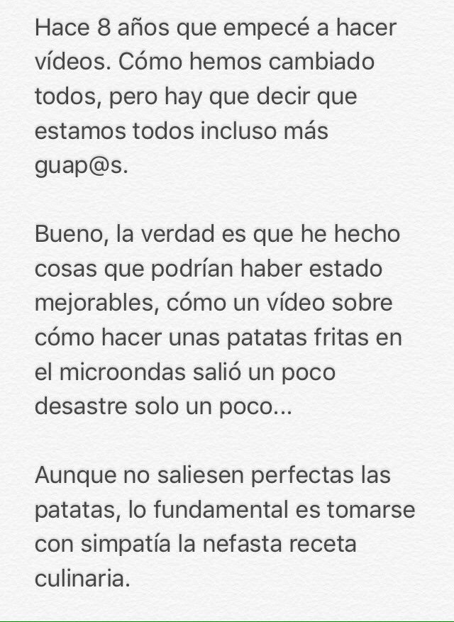 Comunicado de Salvador Raya