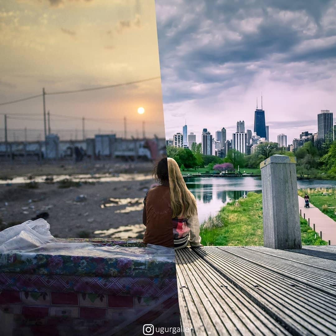 Un mundo: dos dimensiones