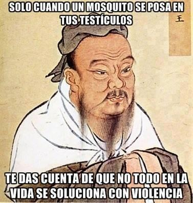 Se puede sacar tanto de este proverbio chino escrito por Albert Einstein...