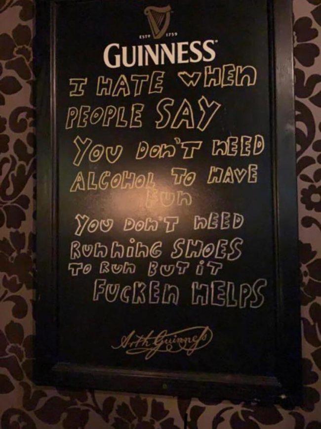 Os traigo sabiduría de bar