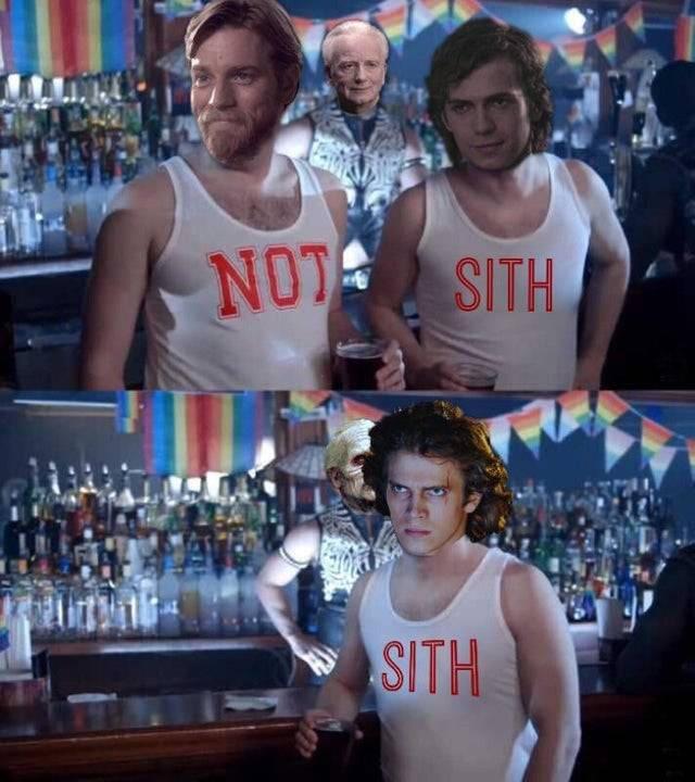 Estúpido y previsible Anakin...