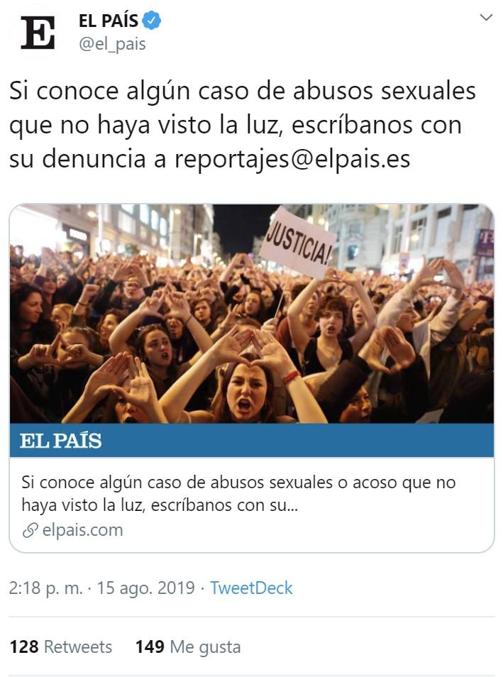 Julio Iglesias también es una víctima