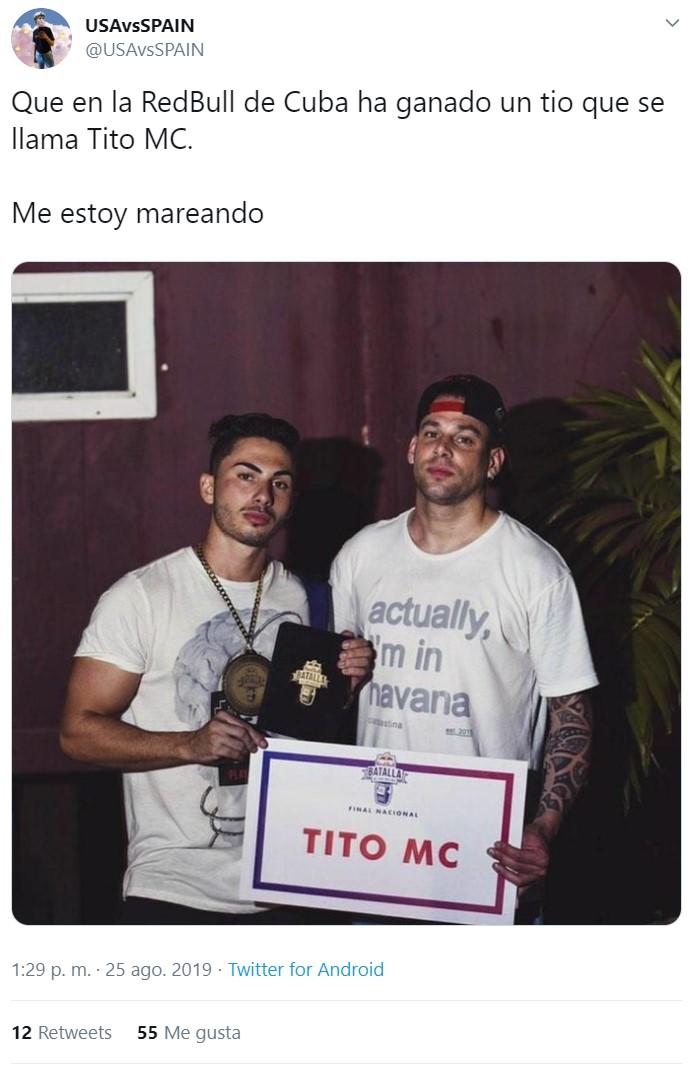 Tito MC ha vuelto, ¡en forma de blanco!