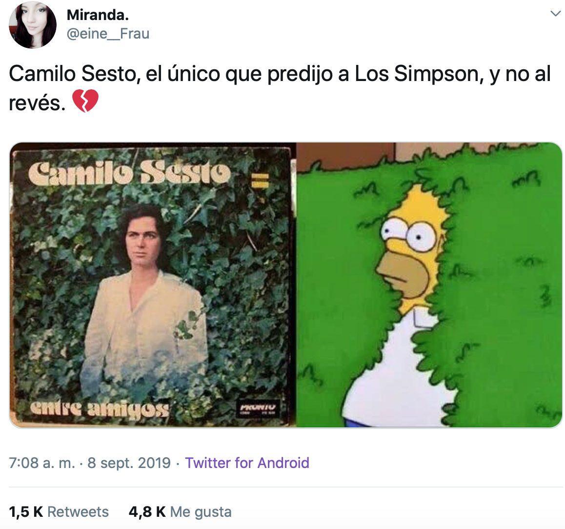 Muere Camilo Sesto