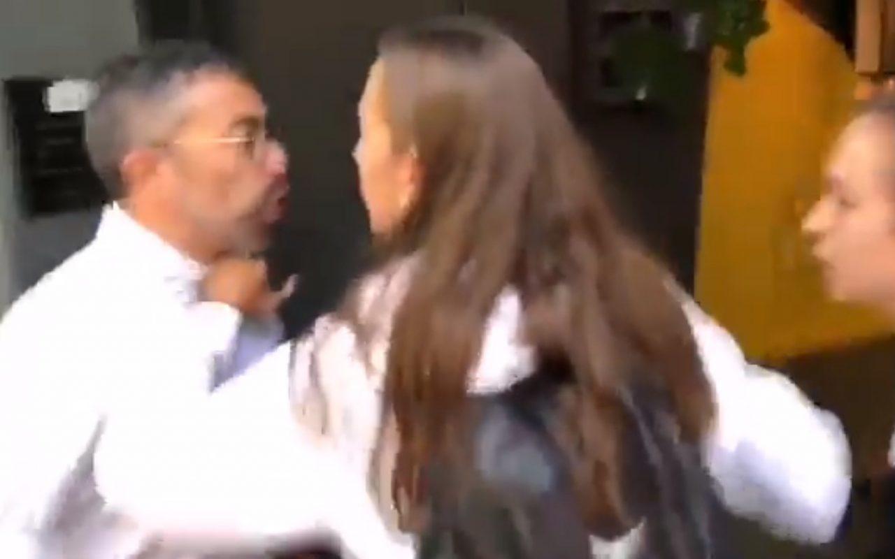 Candela X Y Estudiante Porno no solo casi linchan a un señor por ser guardia civil