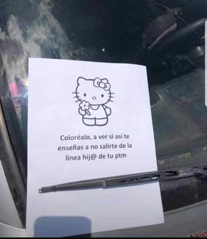 Cuando los empleados del supermercado deciden tomar represalias contra los que aparcan mal