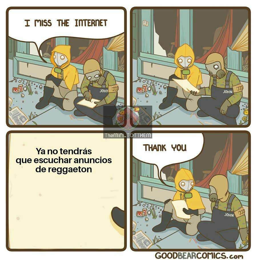 """""""Echo de menos Internet"""""""
